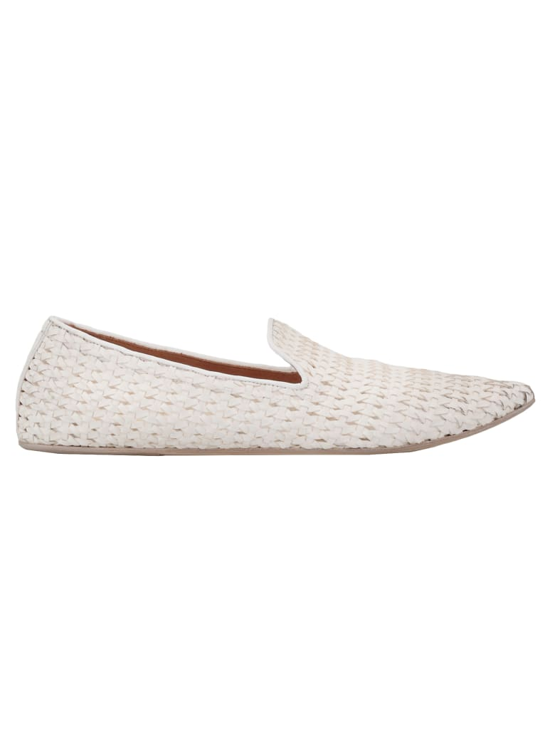 Marsell Leather Loafer - WHITE