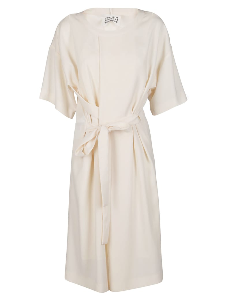 Maison Margiela White Oversized Dress - CREAM