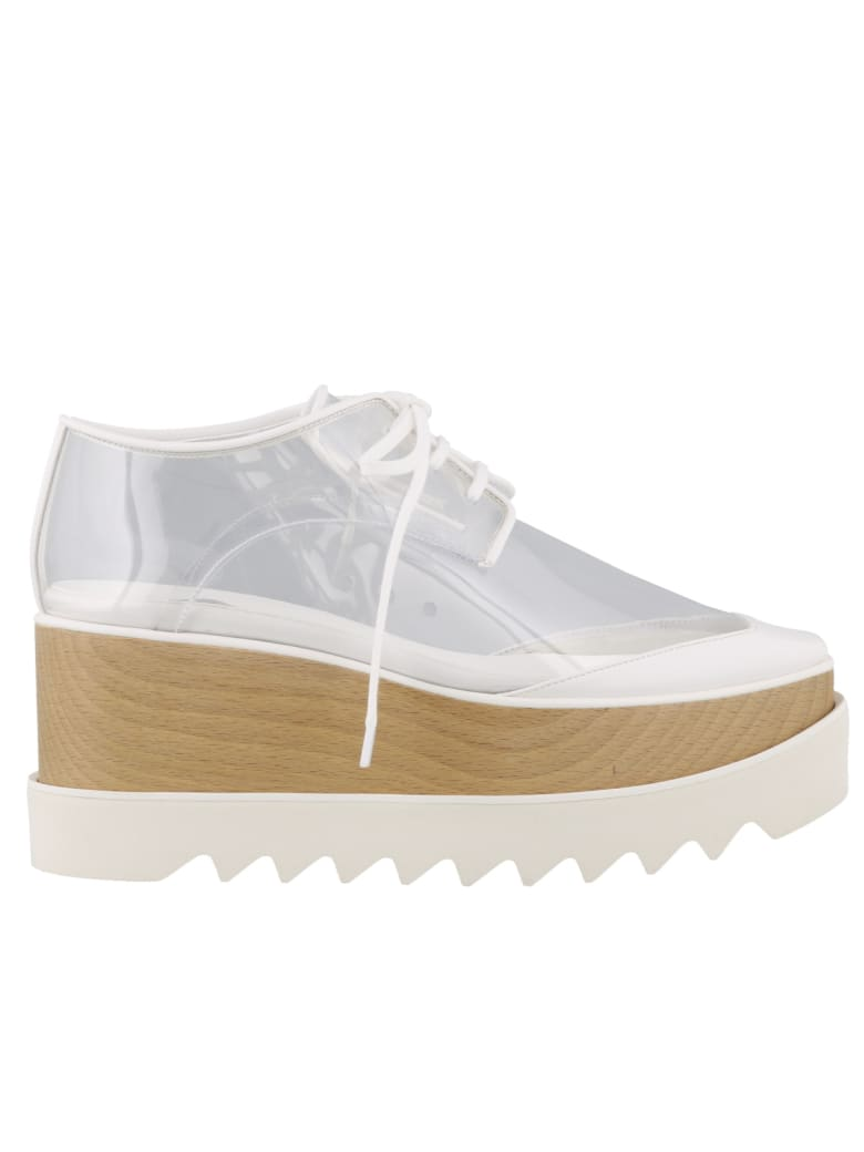 Stella McCartney Elyse Lace Up Shoes - White/transp