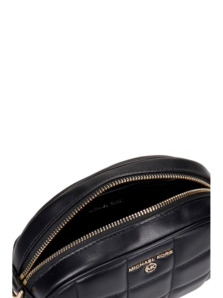 Michael Kors Shoulder Bag In Black Leather - Nero