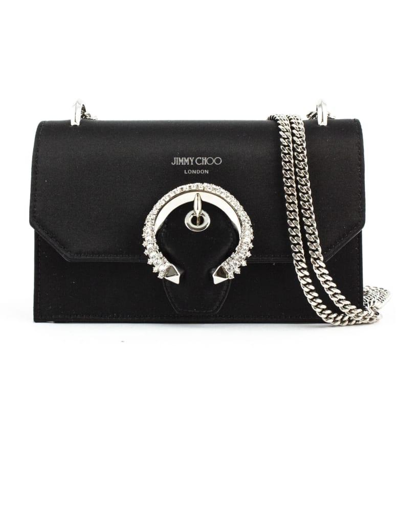 Jimmy Choo Black Paris Mini Bag - Nero