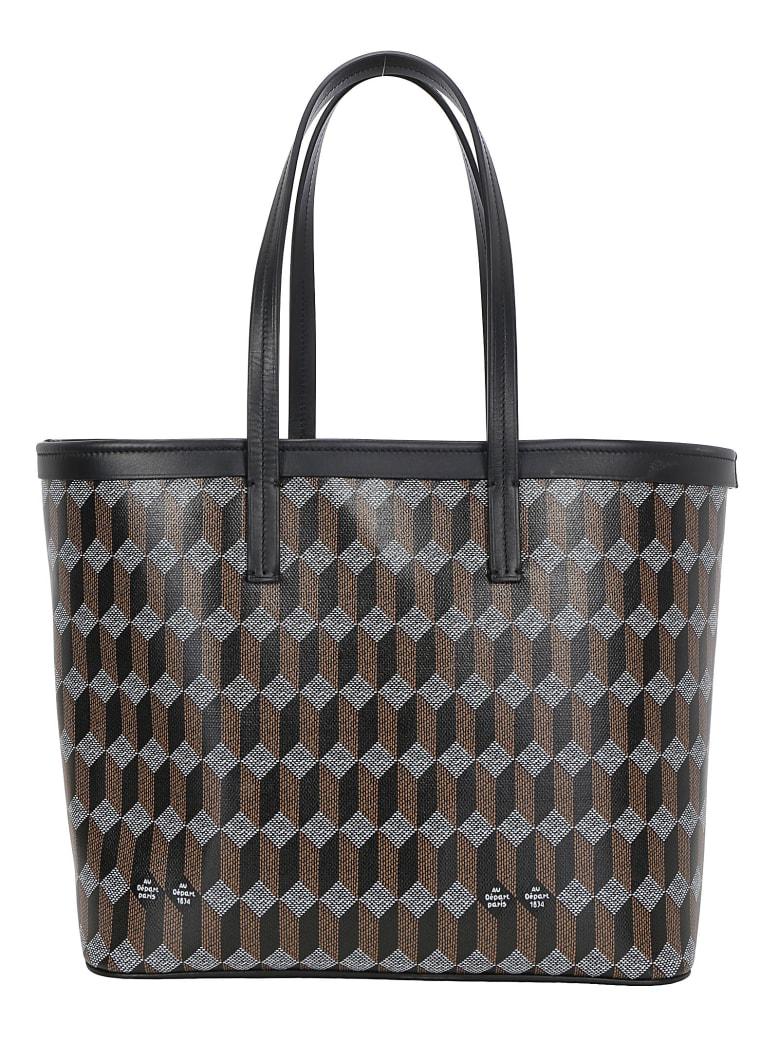 Au Départ Au Depart Shopping Bag - Black monogram