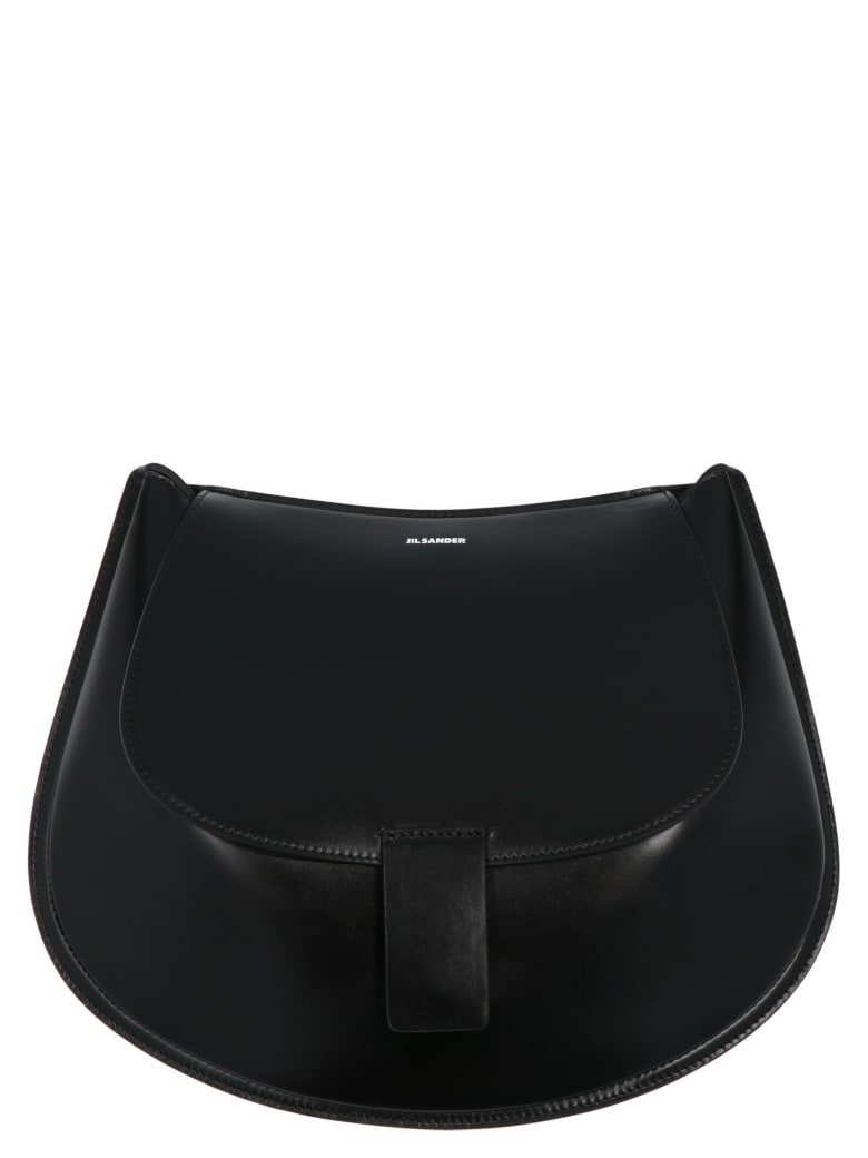 Jil Sander 'crescent' Bag - Black
