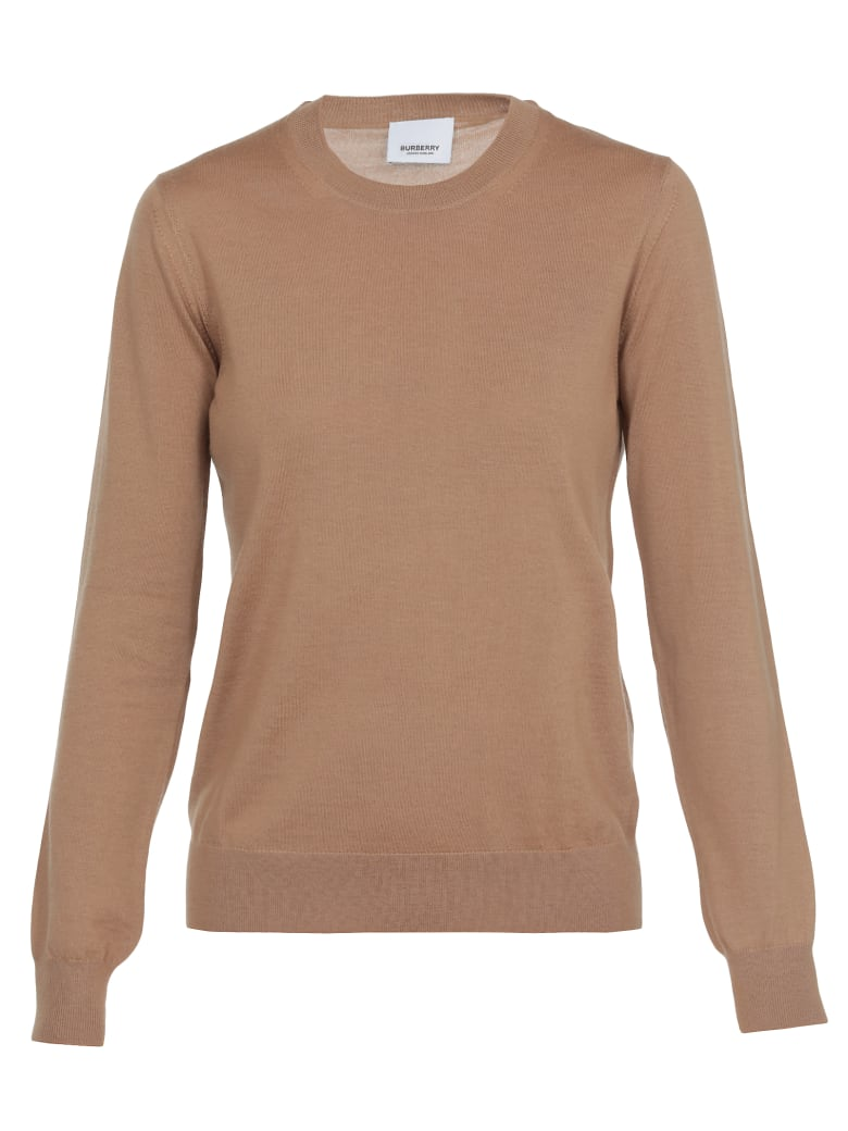 Burberry Bempton Sweater - CAMEL