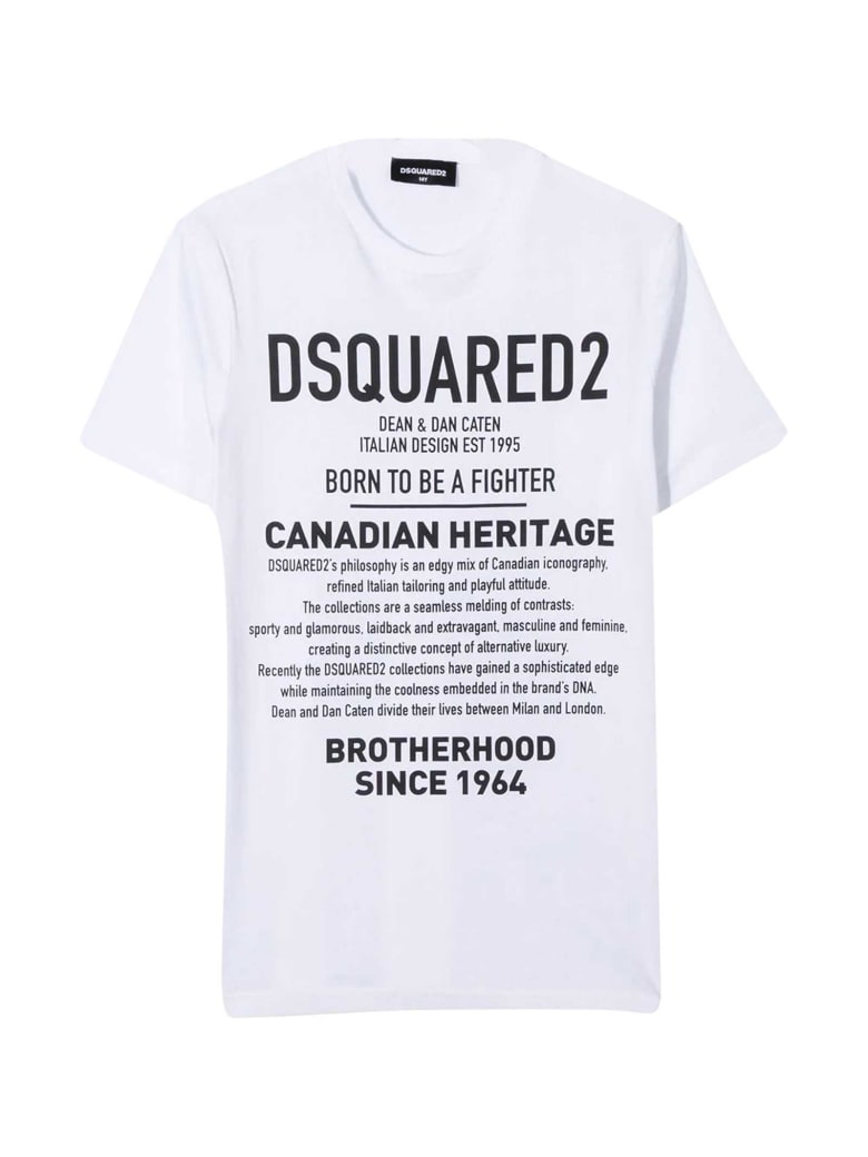 Dsquared2 White T-shirt - Bianco