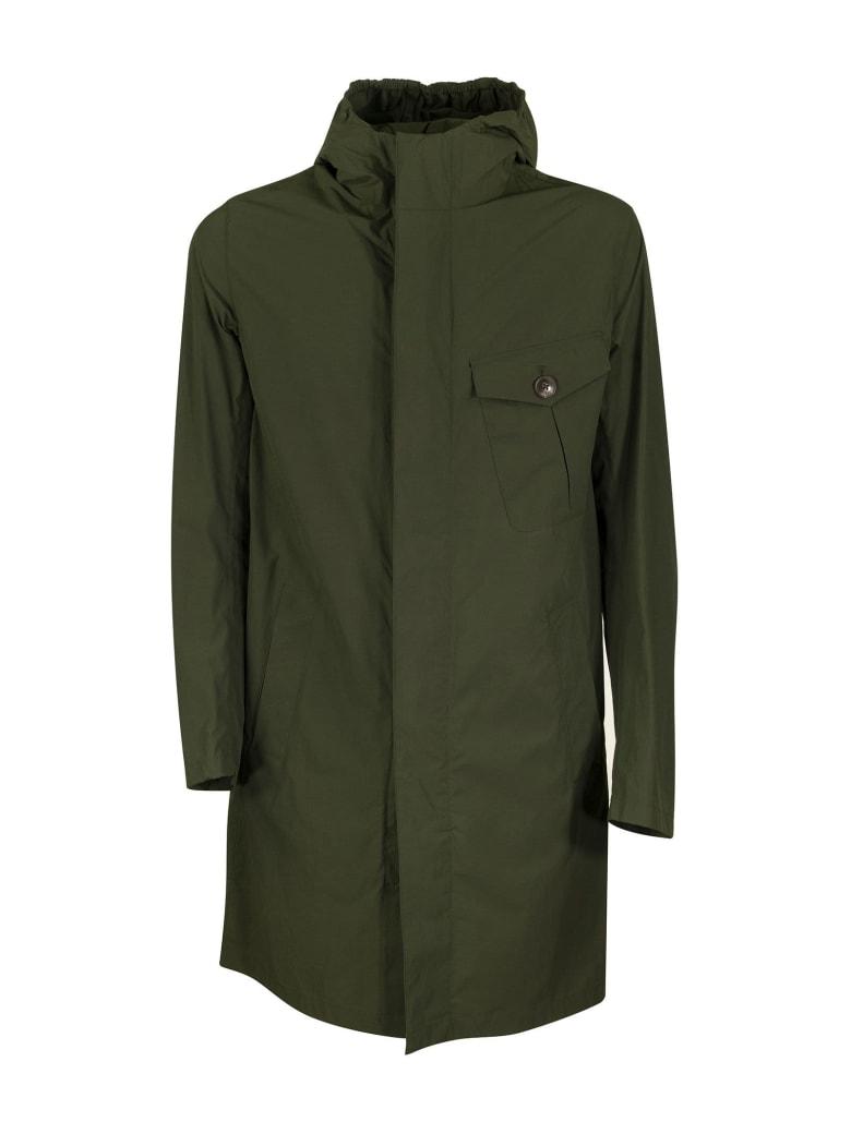 Herno Medium Length Jacket - Green