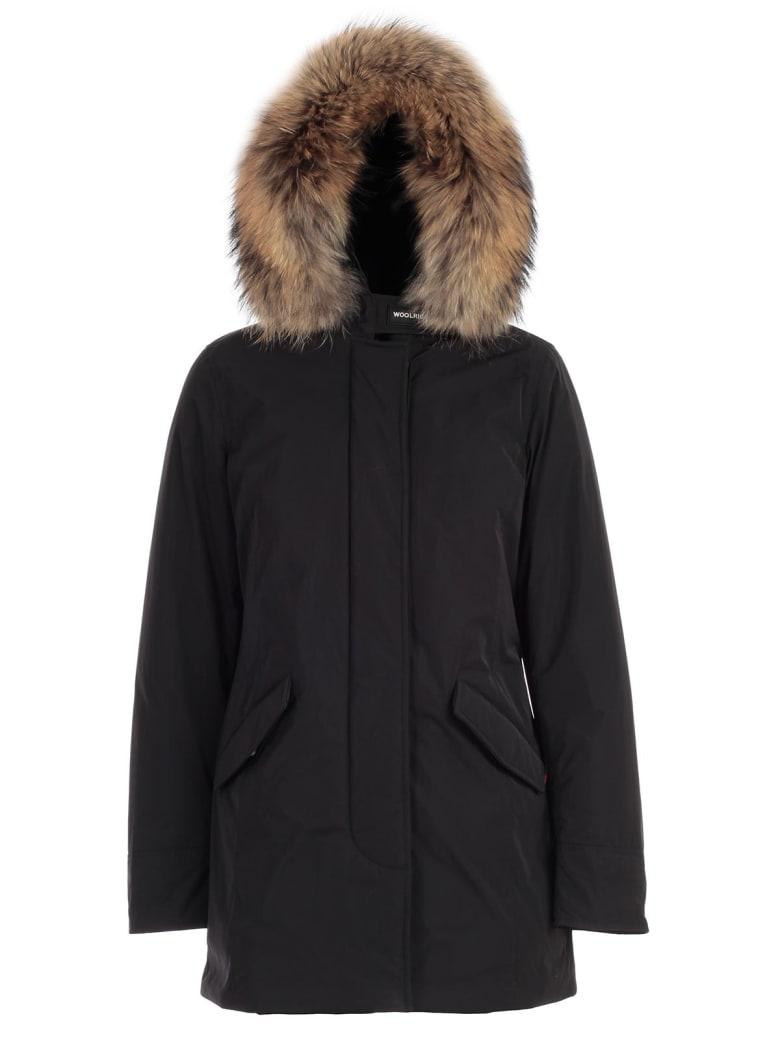 Woolrich Luxury Arctic Parka W/fur - Black