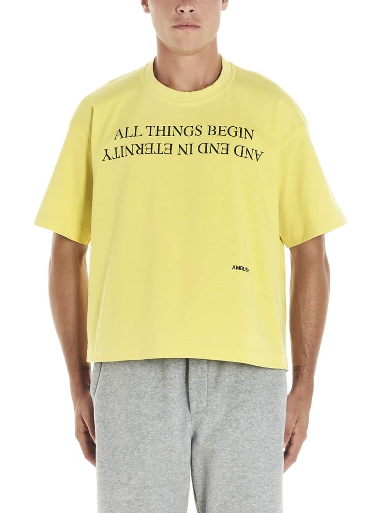 AMBUSH T-shirt - Giallo