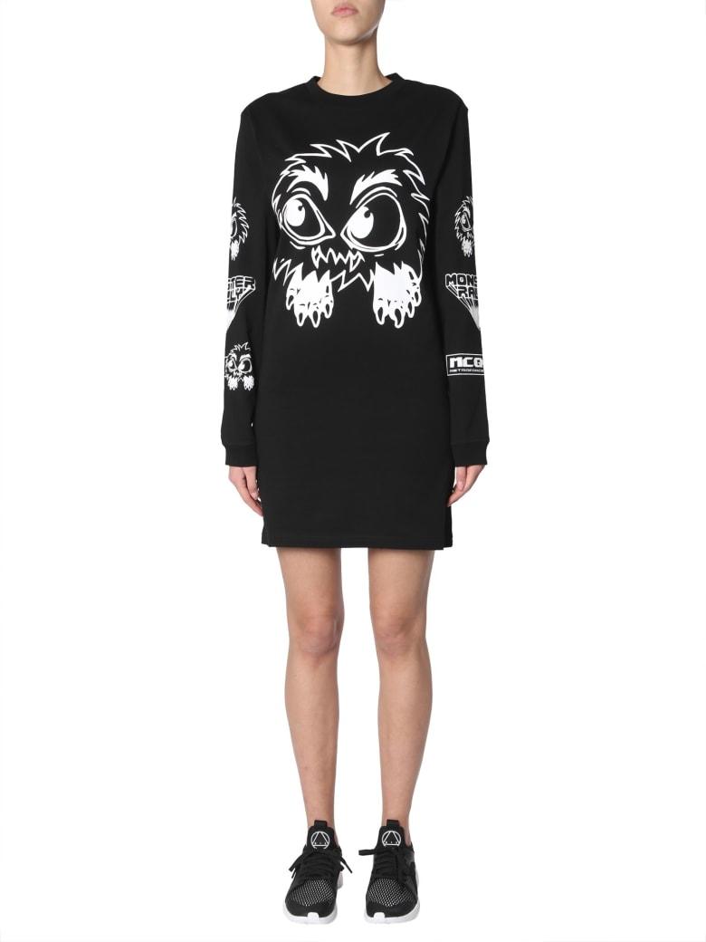 McQ Alexander McQueen Cotton Jersey Dress - NERO