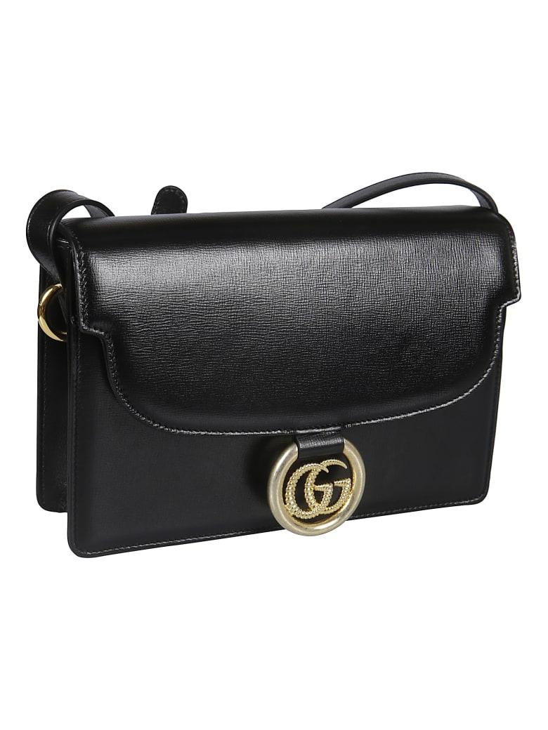 Gucci Azalea Gg Shoulder Bag - Nero