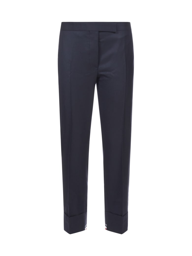 Thom Browne Trousers - Navy
