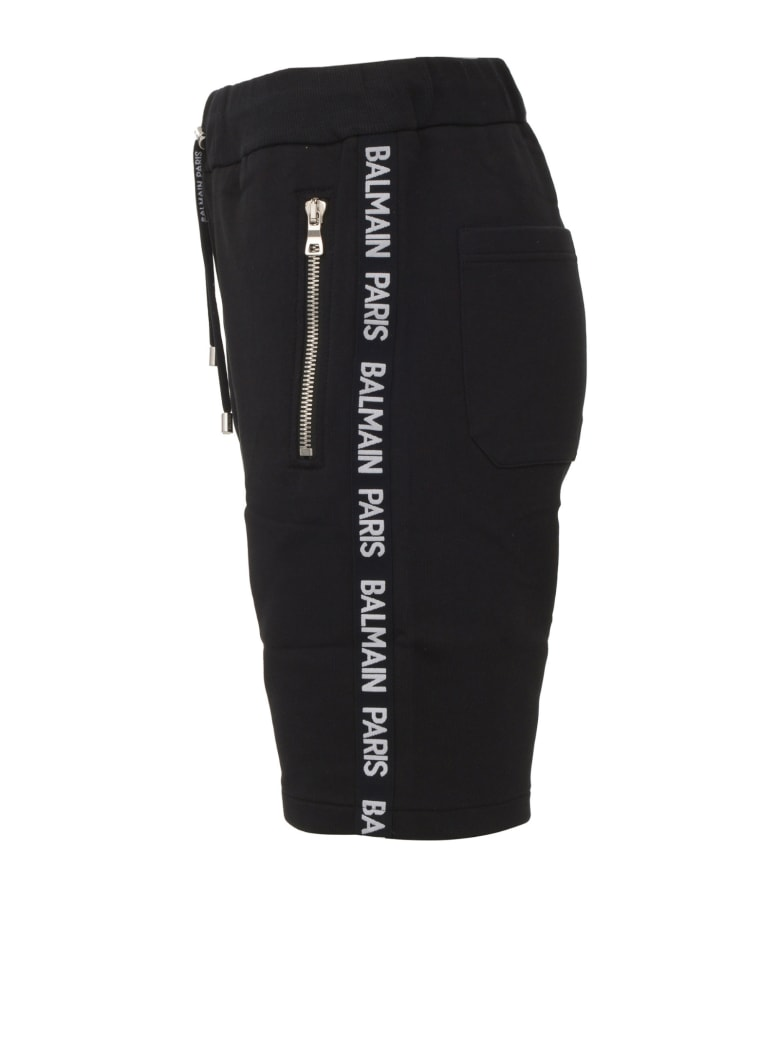 Balmain Paris Shorts - Black
