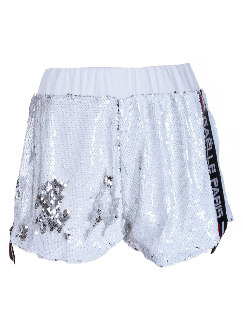 Gaelle Bonheur Sequinned Training Shorts