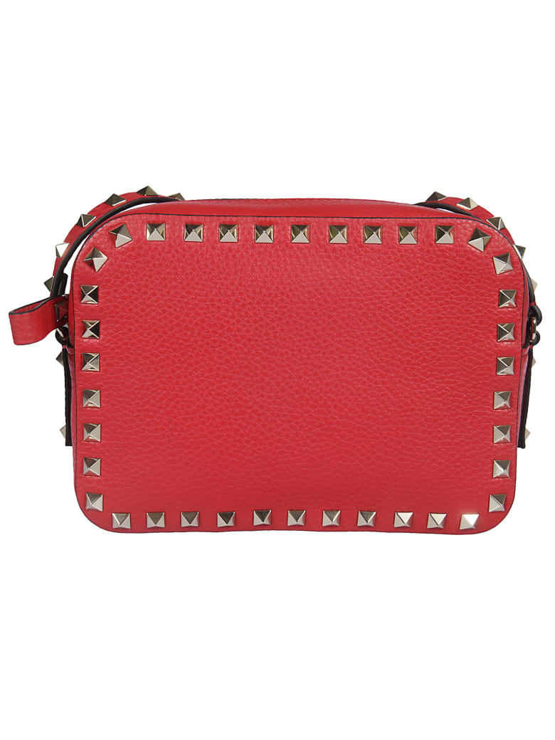 Valentino Studded Crossbody Bag - Rouge Pure