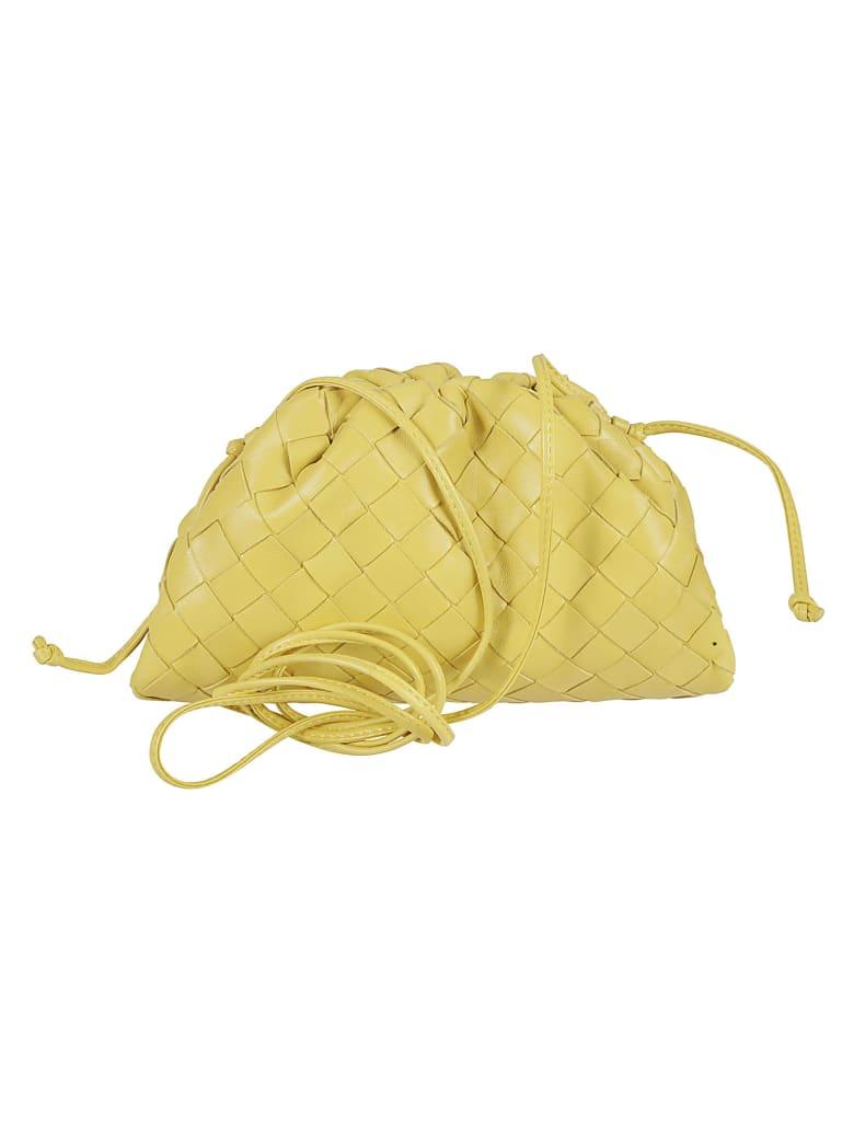 Bottega Veneta The Pouch Shoulder Bag - Buttercup/Gold