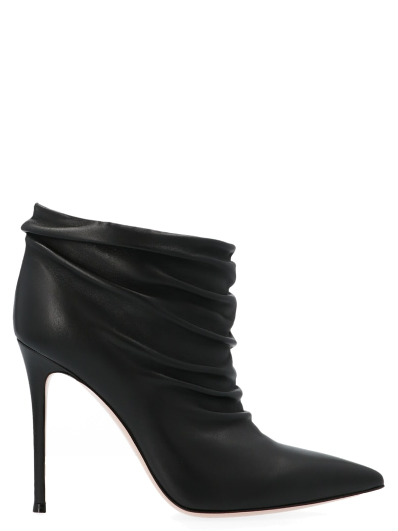 Gianvito Rossi 'cyril' Shoes - Black