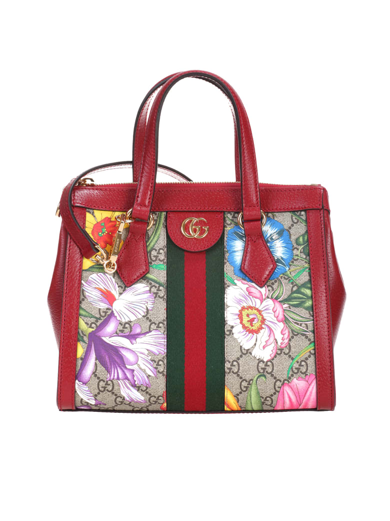 Gucci Ophidia shopping bag - Rosso
