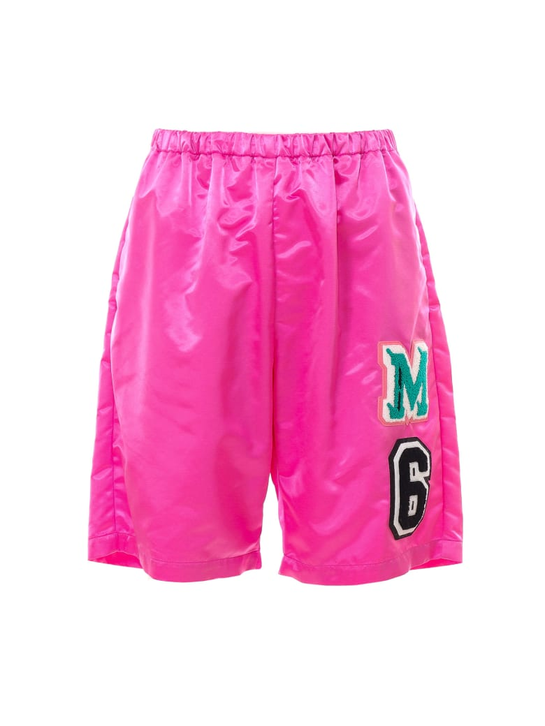 MM6 Maison Margiela Bermuda Shorts - Pink