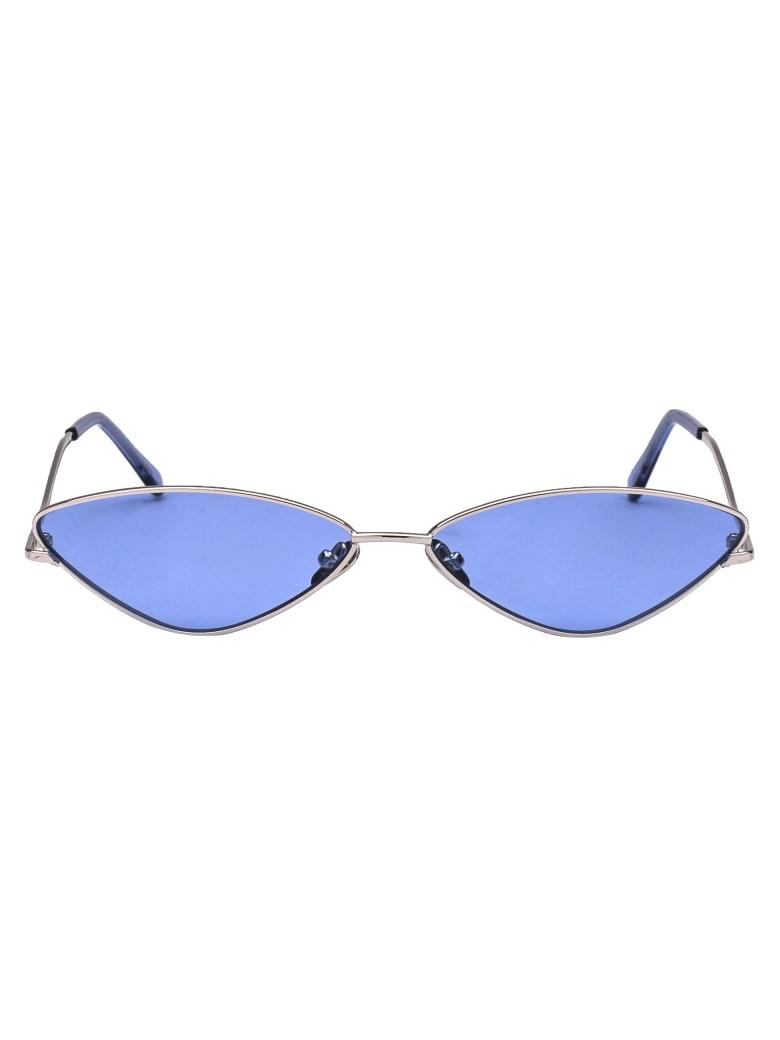 Spektre Sunglasses - Argento/blu Pastello