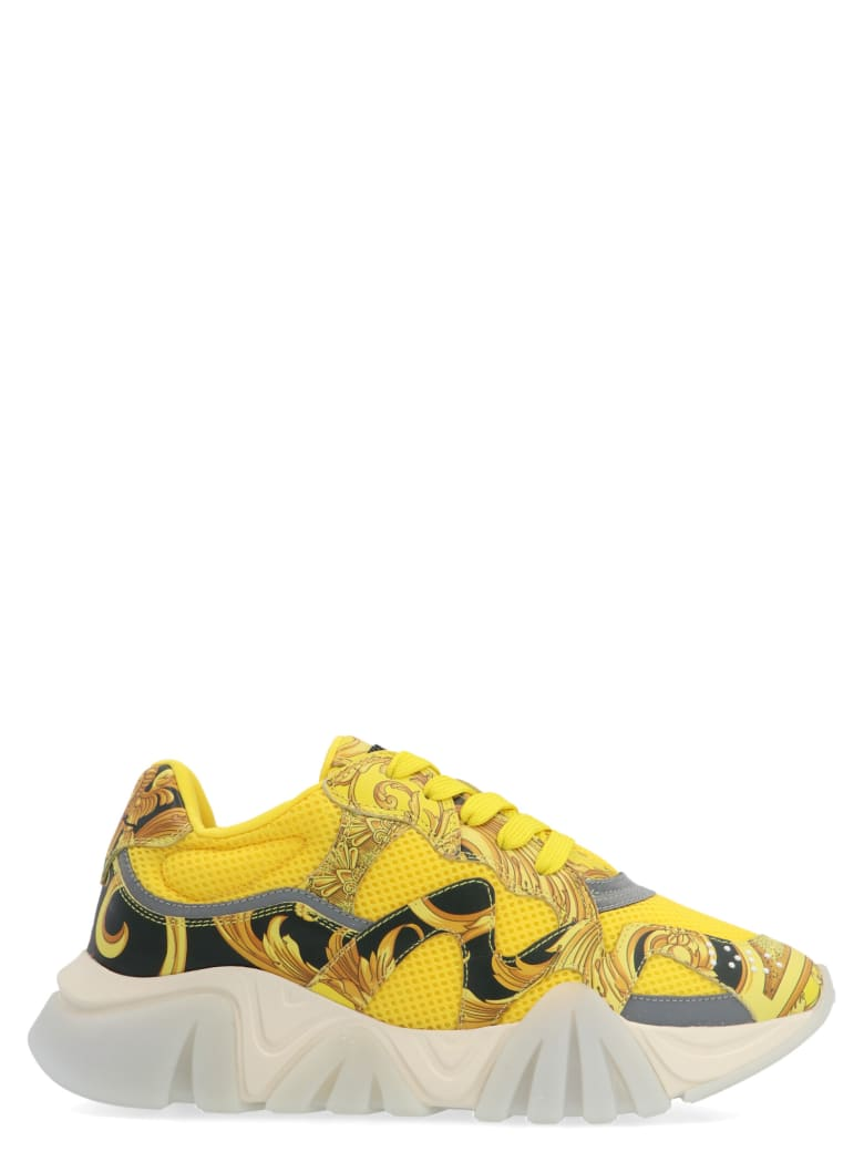 Versace 'squalo' Shoes - Gold