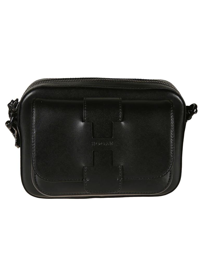 Hogan Basic Maxi Shoulder Bag - black