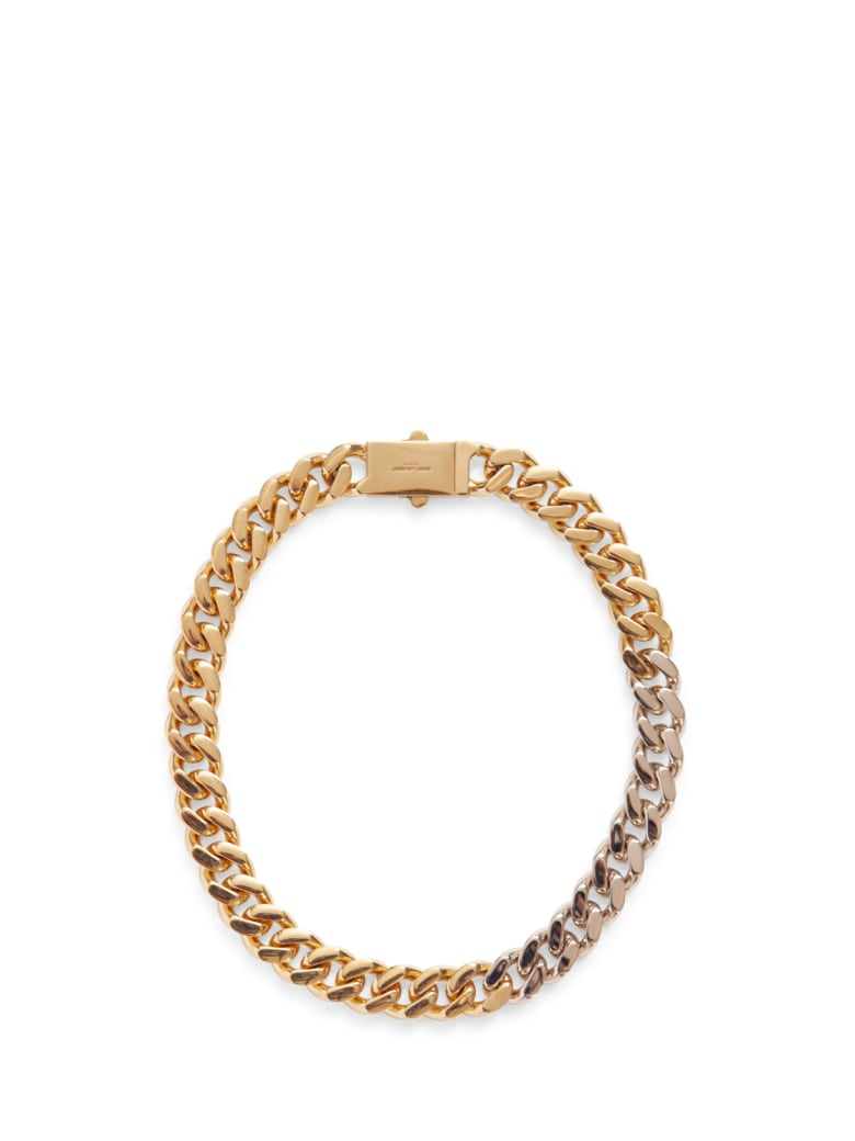 Saint Laurent Chain-link Bracelet - ORO
