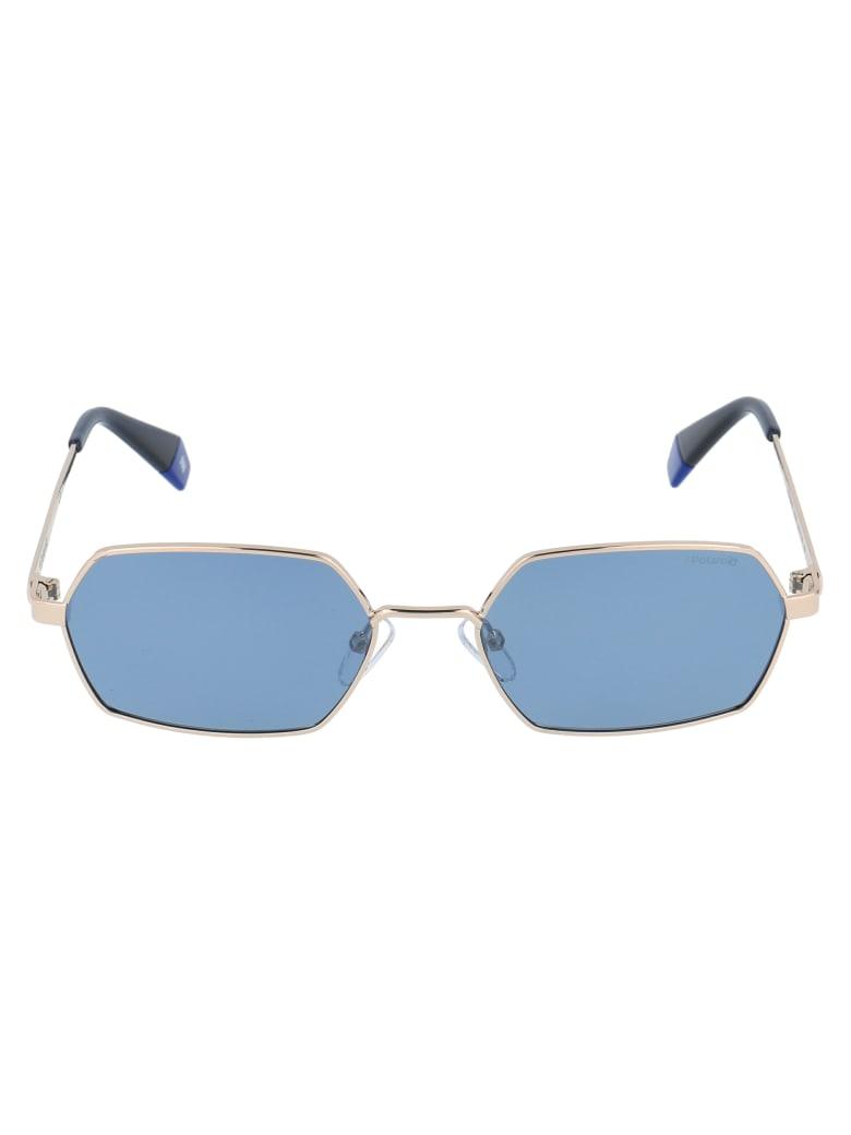 Polaroid Pld 6068/s Sunglasses - LKSXN GOLD BLUE