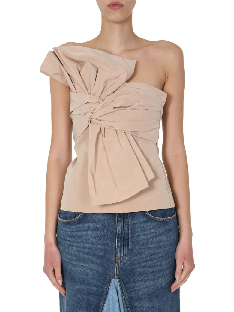Givenchy Bustier With Bow - BEIGE