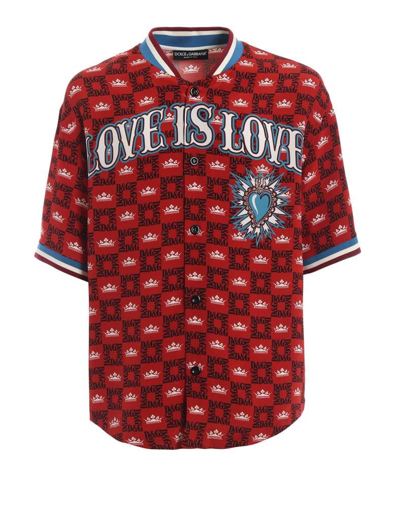 Dolce & Gabbana Devozione Soccer Shirt - Corone Boreaux