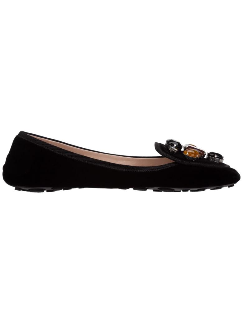 Car Shoe Sneaker Ballet Pumps - Nero