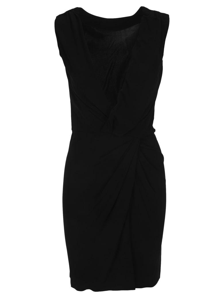 Dsquared2 D Squared Gathered Detail Dress - BLACK