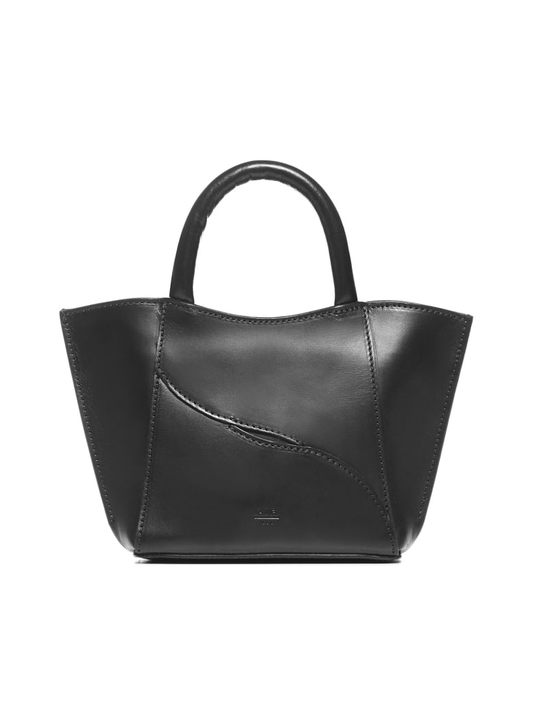 ATP Atelier Leuca Mini Calfskin Bag - Black