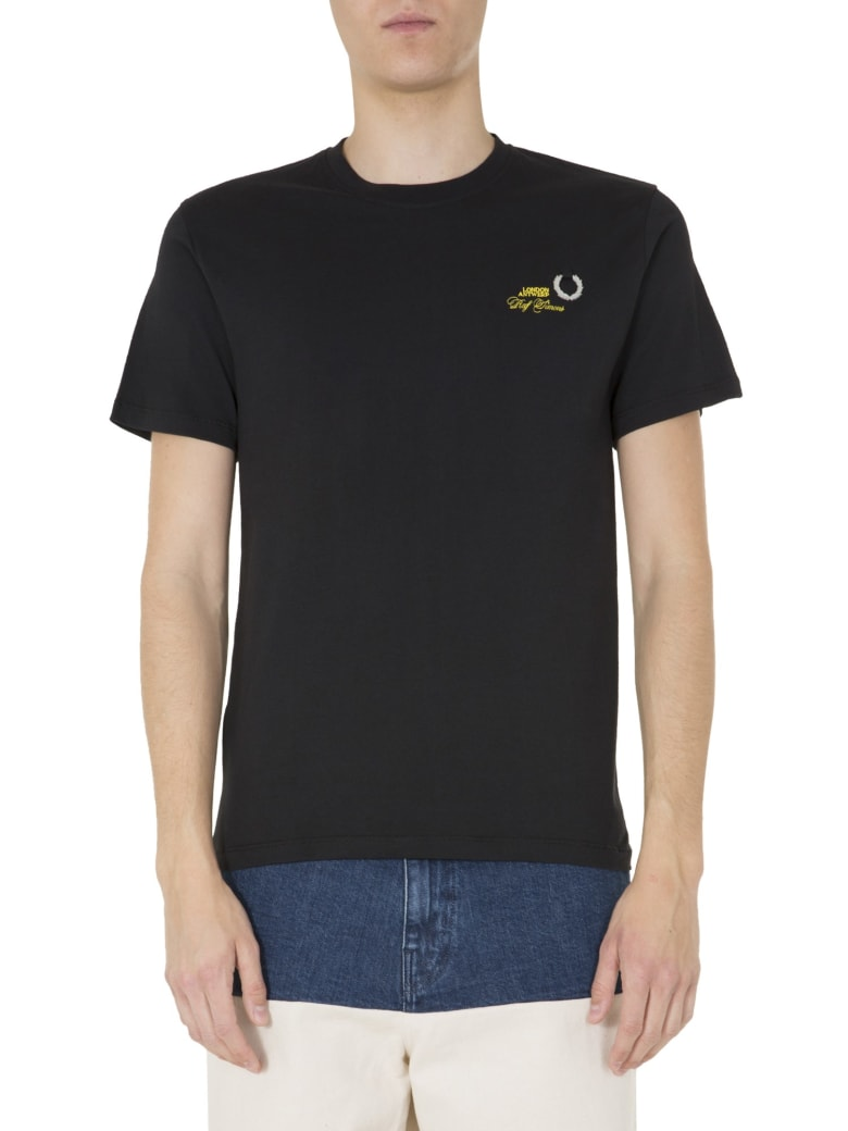Fred Perry by Raf Simons Round Neck T-shirt - NERO