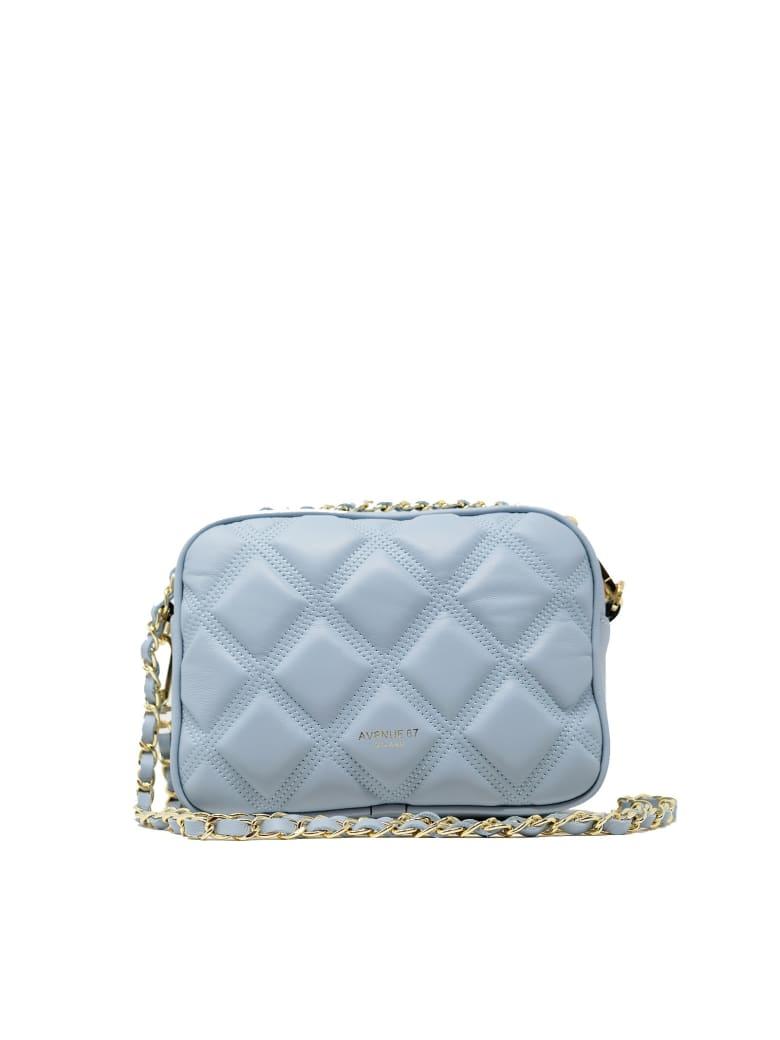 Avenue 67 Leather Cloe Summer Bag - LIGHT BLUE