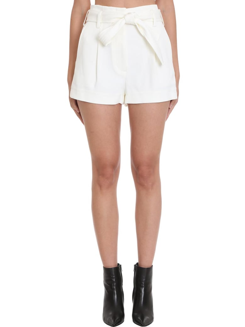 3.1 Phillip Lim Shorts In White Polyester - white