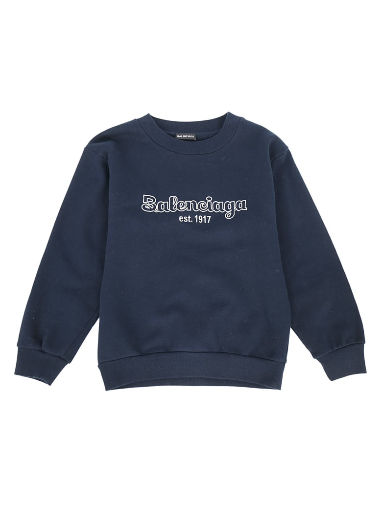 Balenciaga Sweatshirt For Boy - Navy