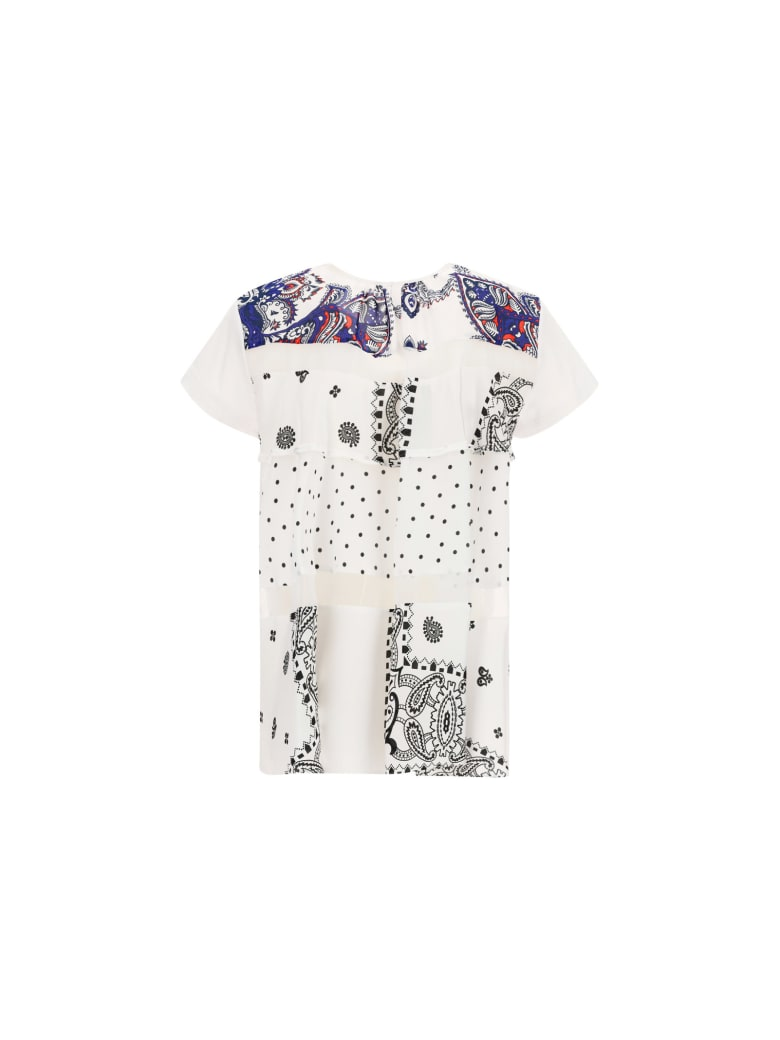 Sacai T-shirt - Bianco