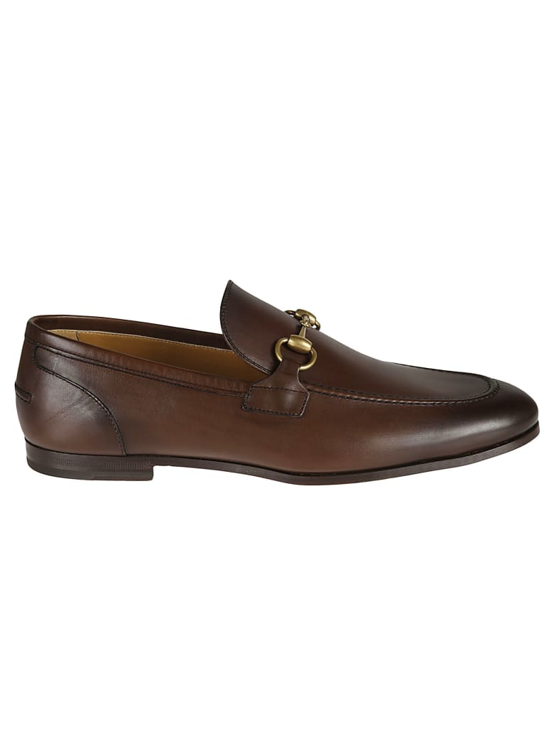 Gucci Betis Glamour Loafers - Brown