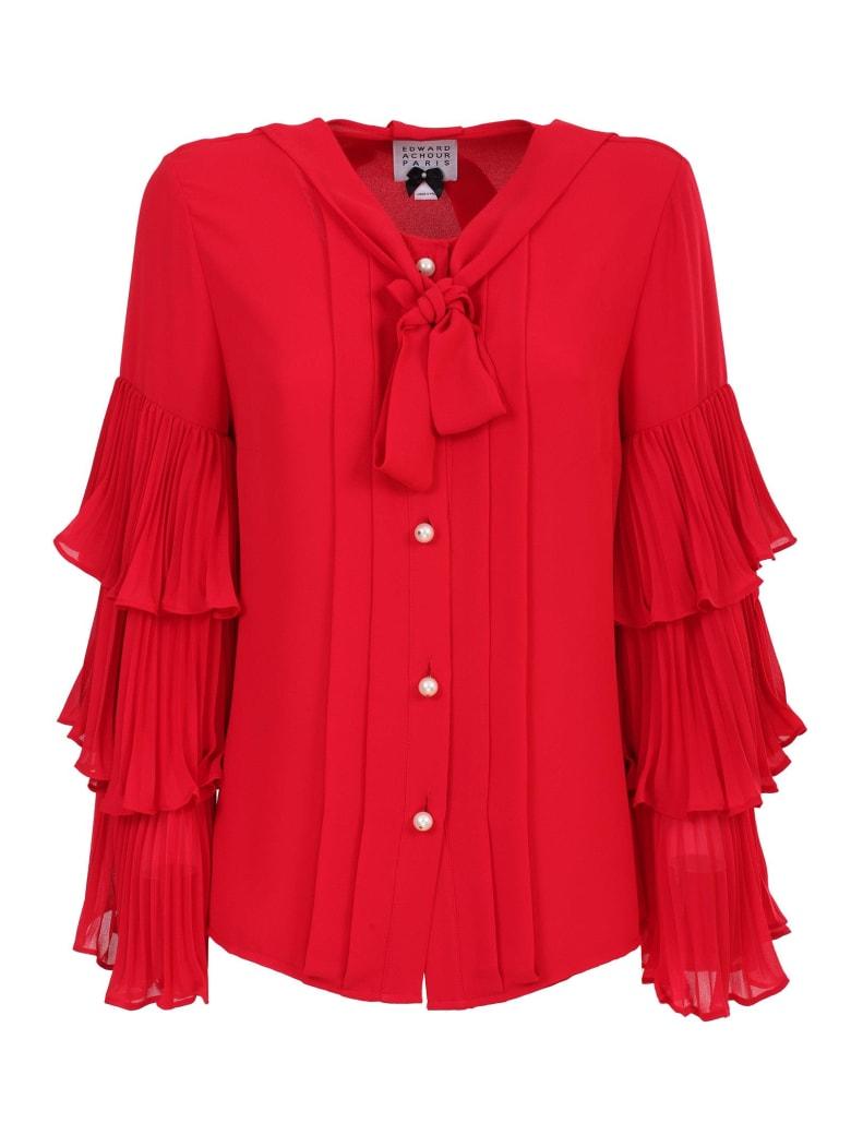 Edward Achour Paris Shirt - Rosso