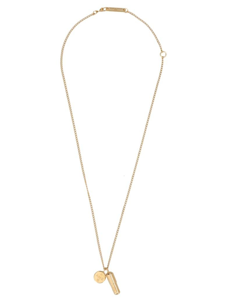 AMBUSH 'pill' Necklace - Gold