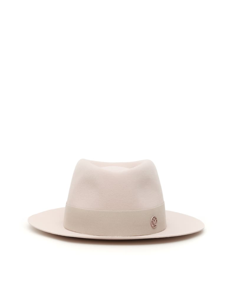Maison Michel Andre Hat - BABY PINK (Pink)