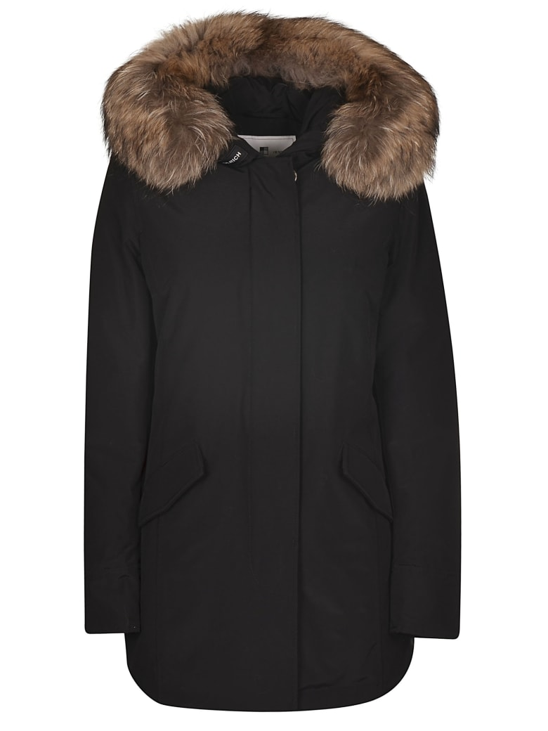 Woolrich Classic Trench - BLACK