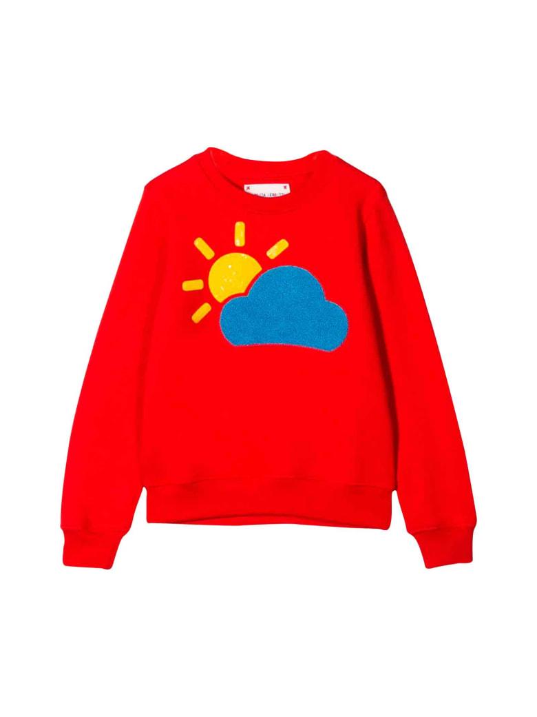 Alberta Ferretti Red Sweatshirt - Rosso