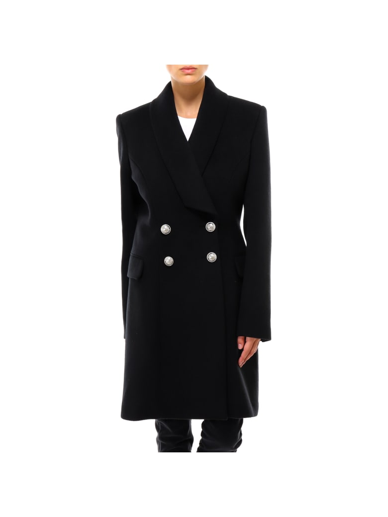 Balmain Coat - Black