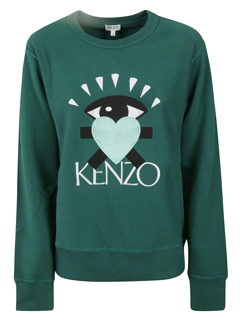 Kenzo Logo Embroidered Sweatshirt by Kenzo