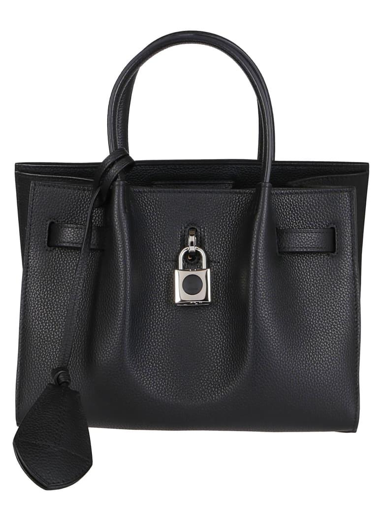 Lanvin Black Leather Bag - Black