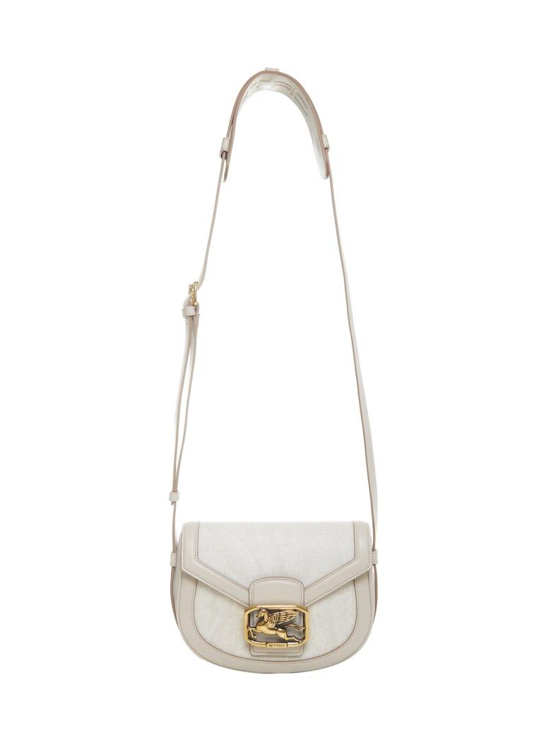 Etro Paisley Pegaso Shoulder Bag - White