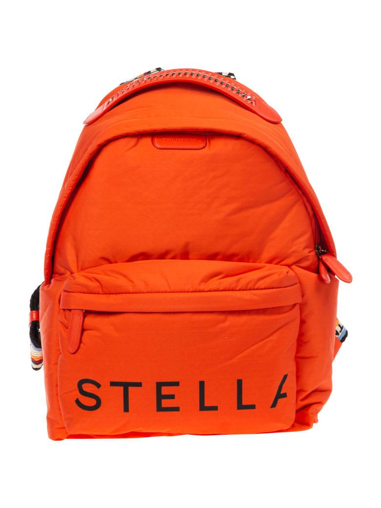 Stella McCartney Falabella Reversible Monogram Backpack - Rosso