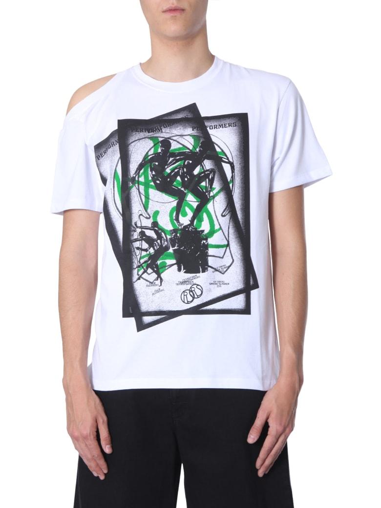 Raf Simons Performers Printed T-shirt - BIANCO