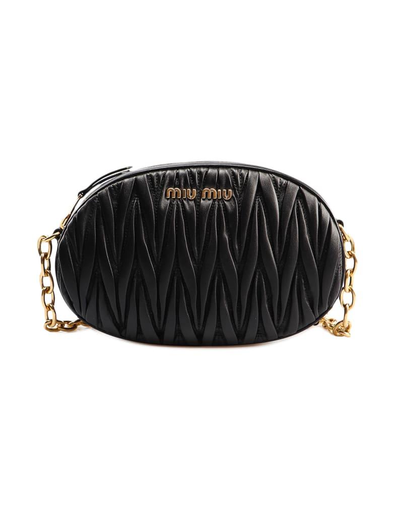 Miu Miu Shoulder Bag Matelasse` - Nero